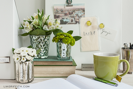 Office Decorating Ideas with Flowers