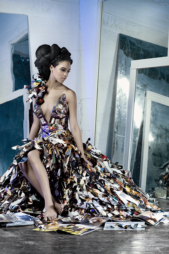 Papier Couture Vogue Magazine Dresses