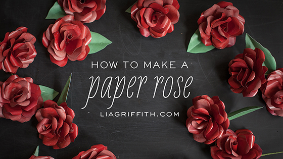 Paper Rose Video Tutorial