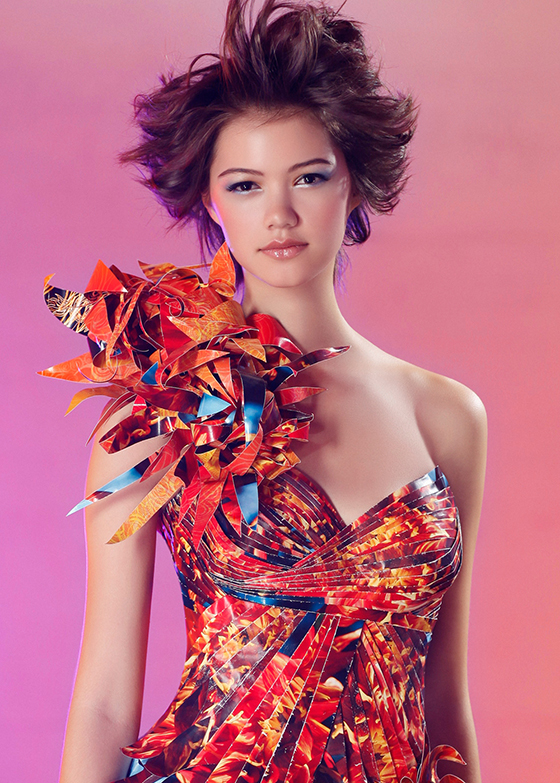 Dahlia and Butterfly Dresses