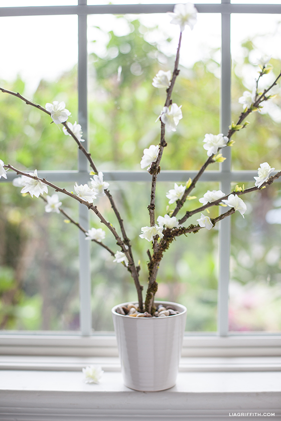 Blooming Branches From Paper