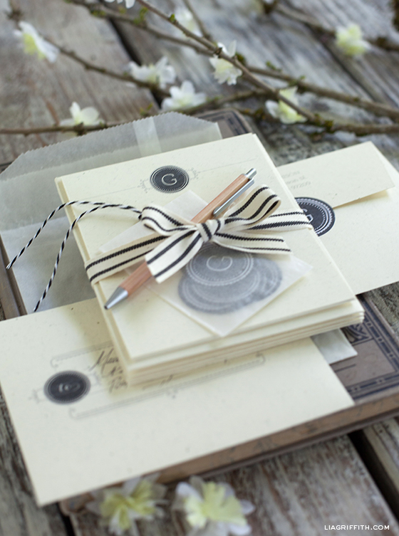 Personalized Stationery Notecards