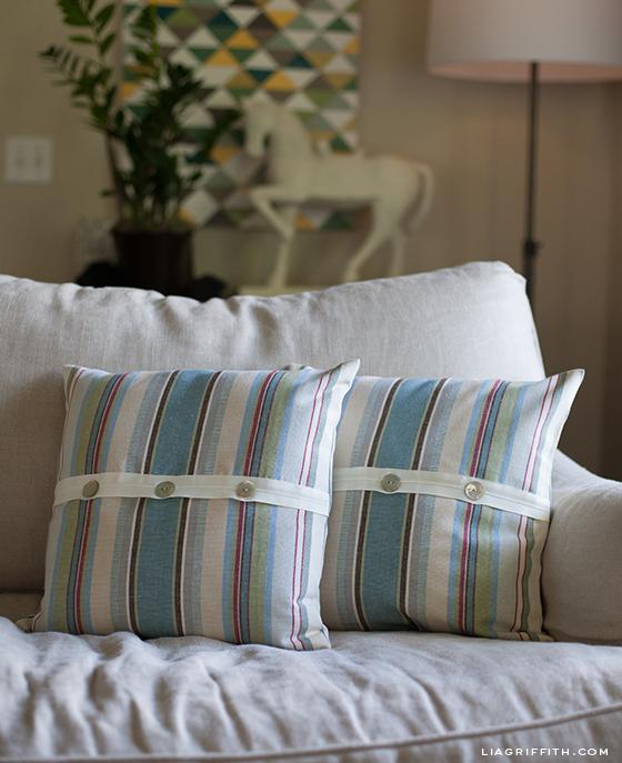 Annie Sloan Fabric Pillows