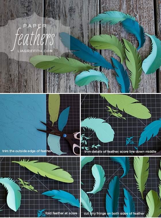 Paper Feather Tutorial