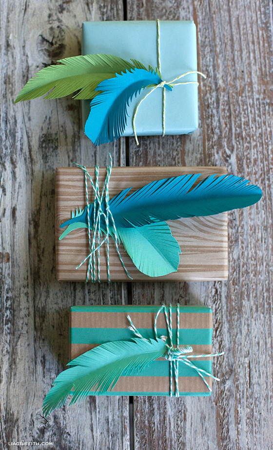Paper Feather Pattern