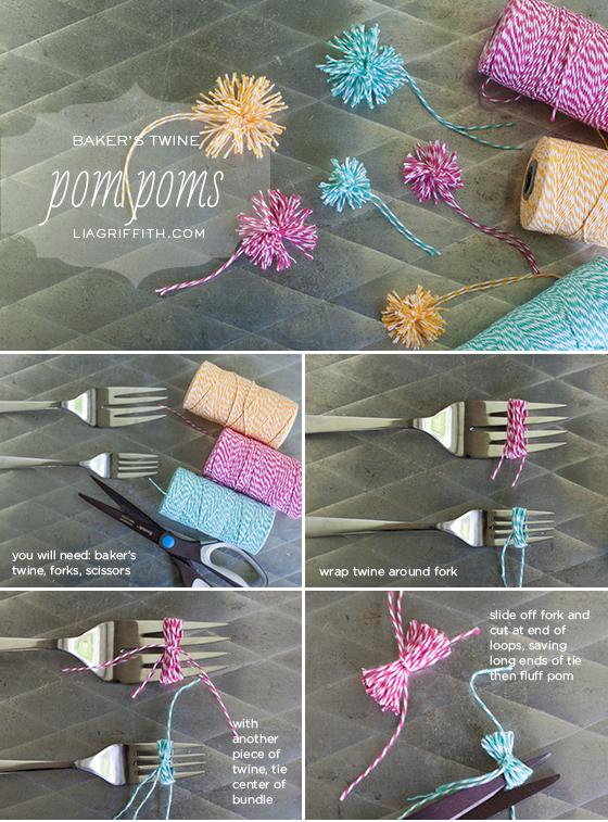 DIY Pom Poms Tutorial