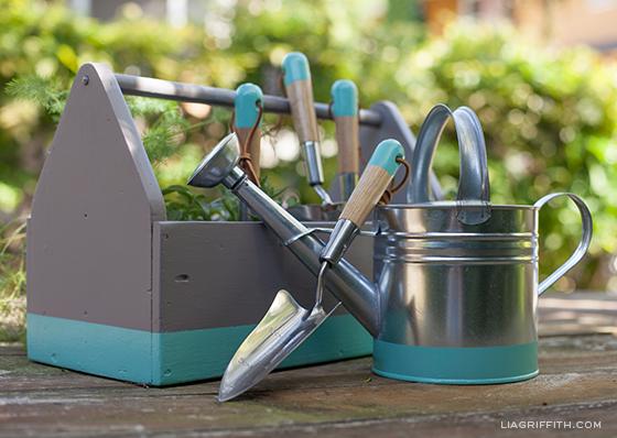 Tea Painted Garden Tools