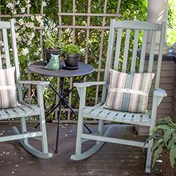 Diy Vintage Painted Rocking Chairs