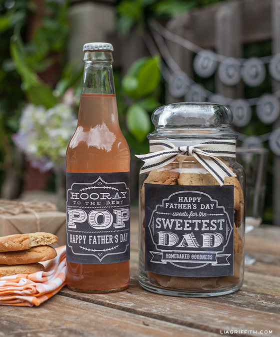 Printable Fathers Day Sweets Labels