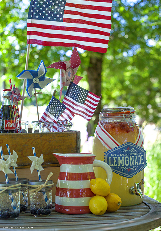 Fourth of July Lemonade