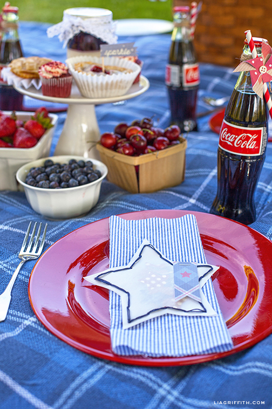 Fourth of July Place Setting