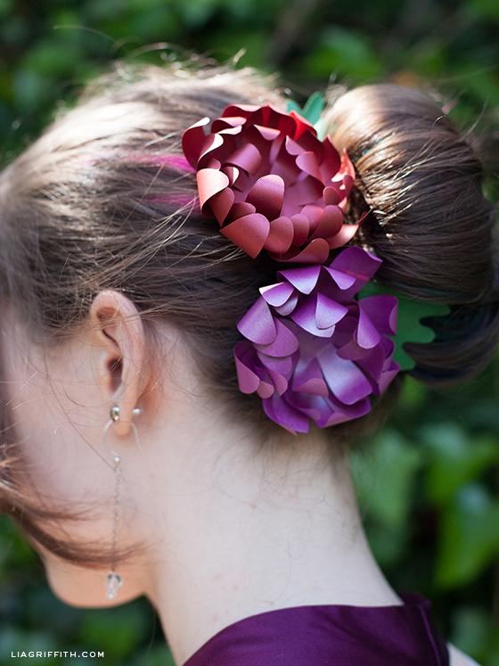 Mum Hair Flowers