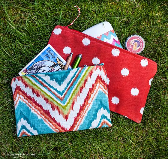 Small DIY Zipper Bags