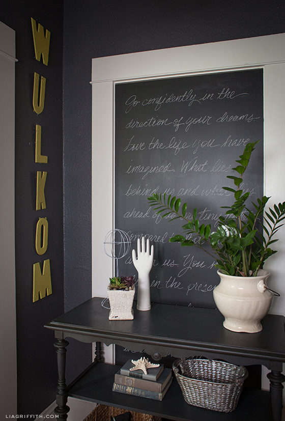 Chalkboard Entry