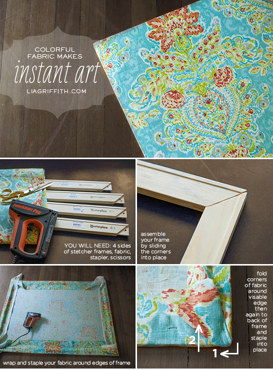 Fabric Art Tutorial