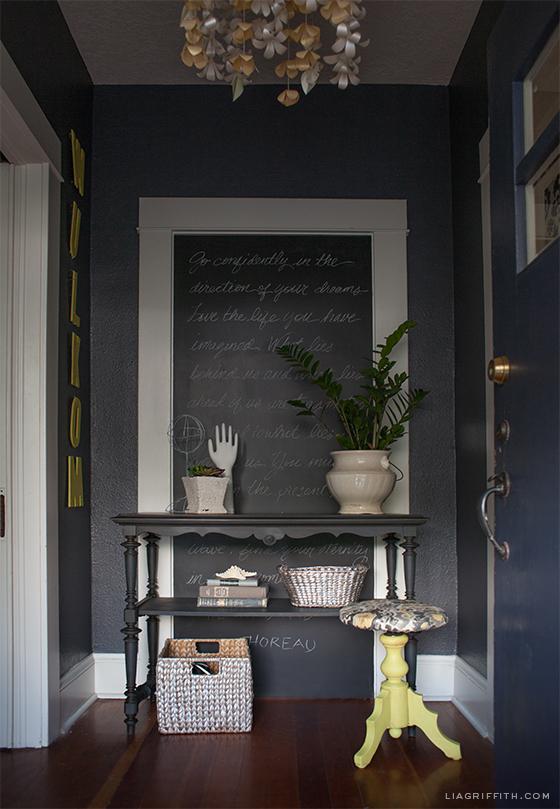 Grey Yellow Entry