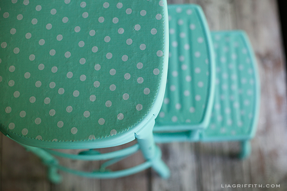 Vintage Stool Updated