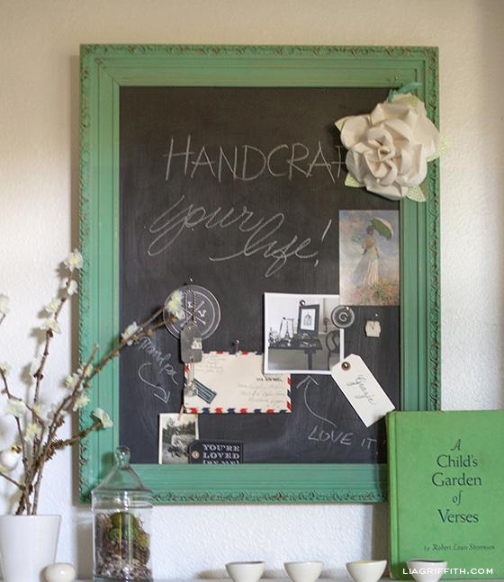 Chalkboard Pinboard