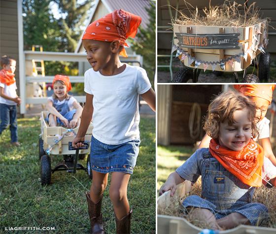 Farm Party Wagon Rides