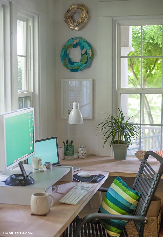 Lia Griffiths Office Desk