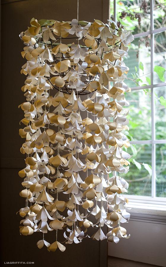 Paper Flower Cascade