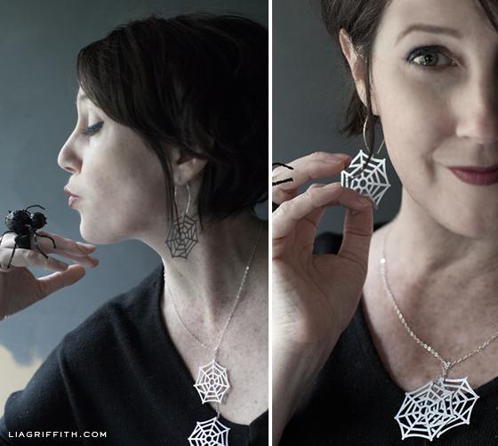 Lia Spider Web Jewelry