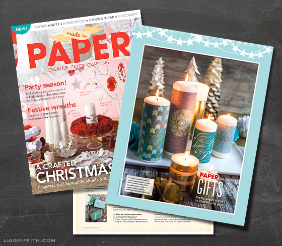 Made in Paper Candle Wraps