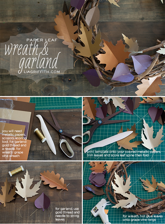 Paper Leaf Tutorial