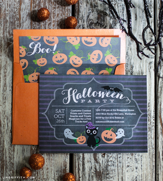 Printable Halloween Party Invitation