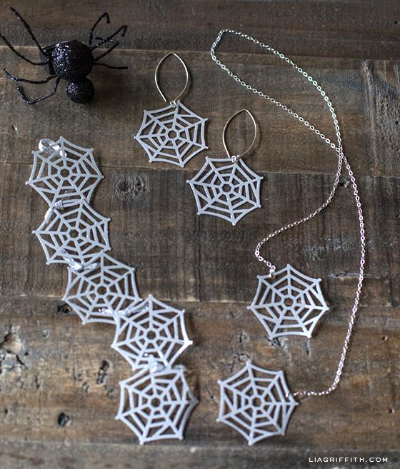 Spider Web Jewelry Martha Stewart Punch
