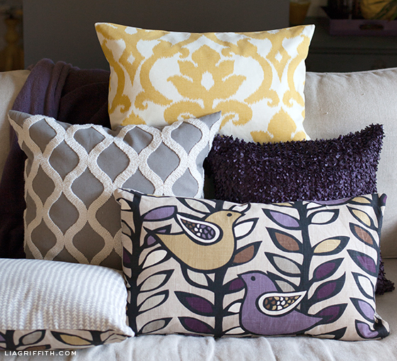 Sew Pillow Covers