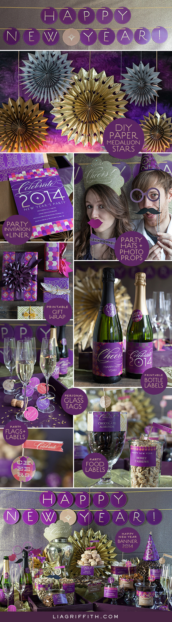 New Year Party Roundup