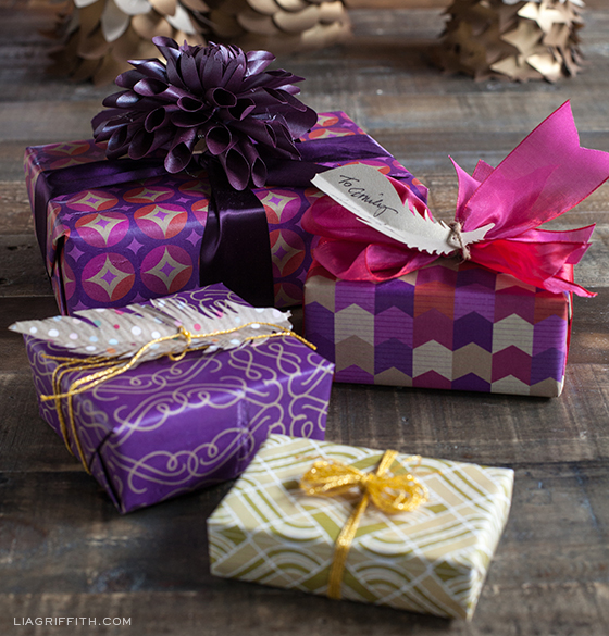 Plum Gift Wrap