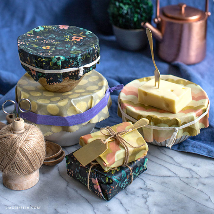 diy beeswax wrap cloths