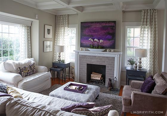 Living room winter