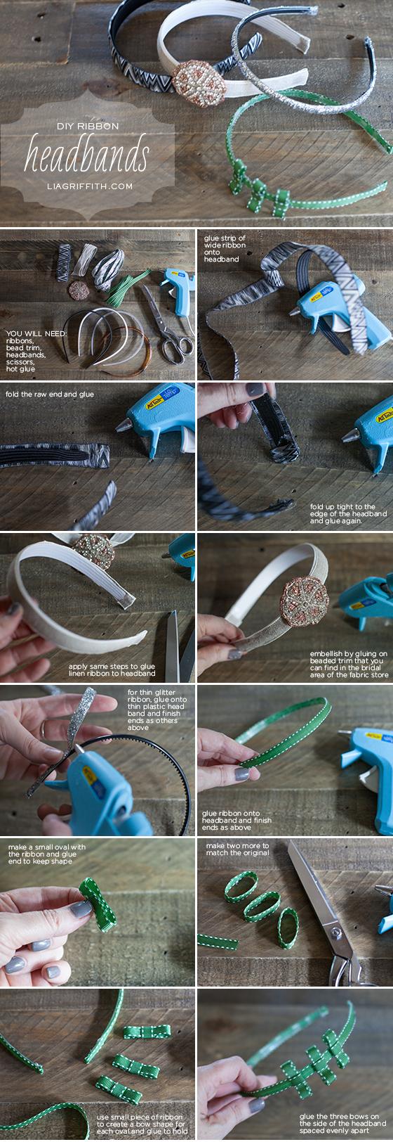 Ribbon Headband Tutorial
