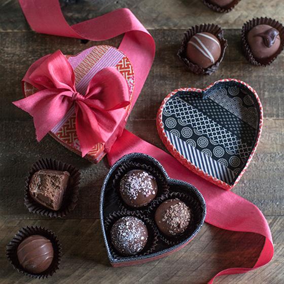 Make A Washi Tape Heart Box For Valentine S Day