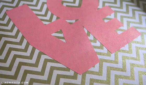 Paper Love Wall Art
