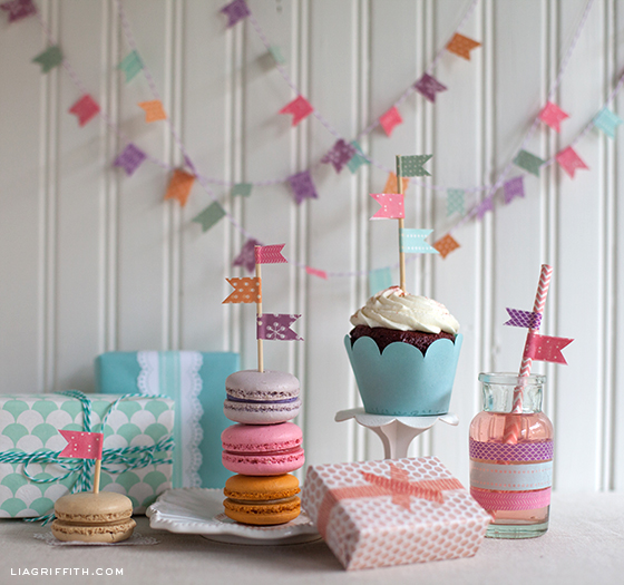 How to Make Party Decorations With Washi Tape