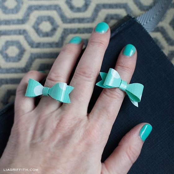 Mini Bow Rings
