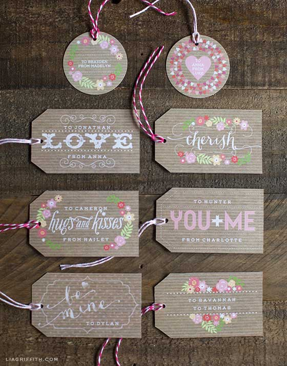 Sweet Valentine Gift Tags