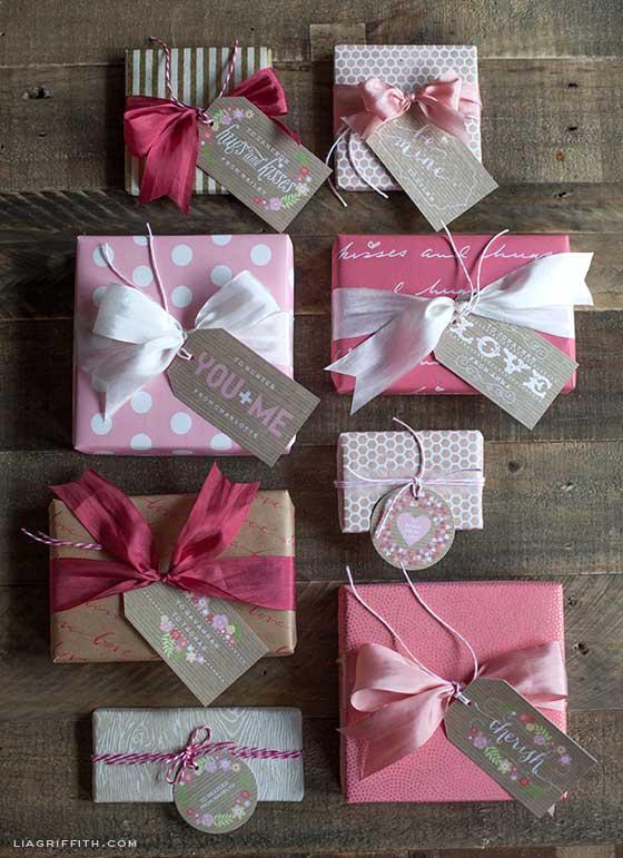 Valentine Gift Tag Set