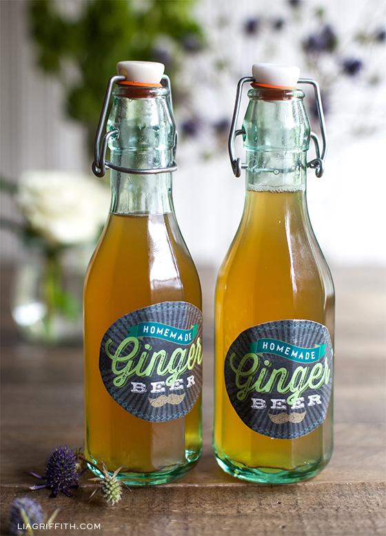 Ginger Beer Printable Labels