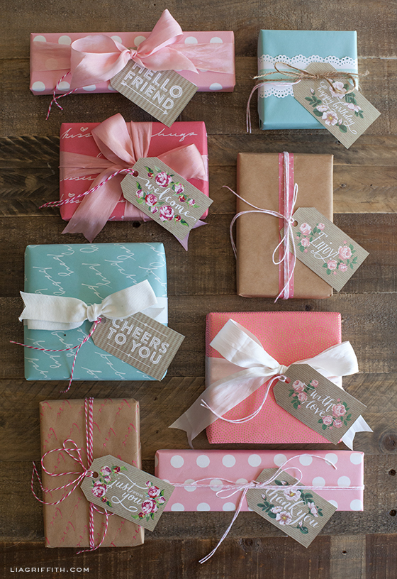 Spring Gift Tags