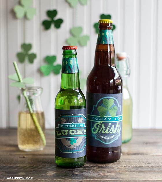 St Patricks Day Labels