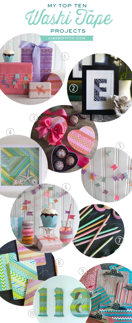 Top 10 Washi Tape Craft Projects