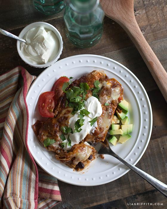 Mole-Sauce_Vegetable-Enchiladas