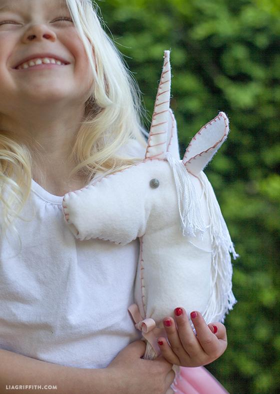 handmade unicorn horse