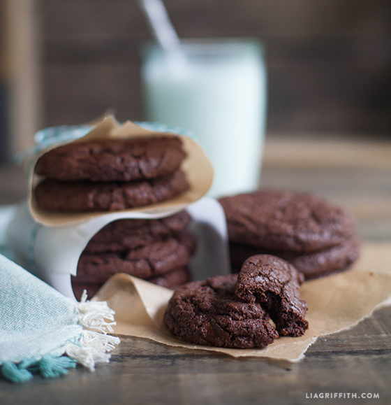 Double Chocolate Cookies Gluten Free