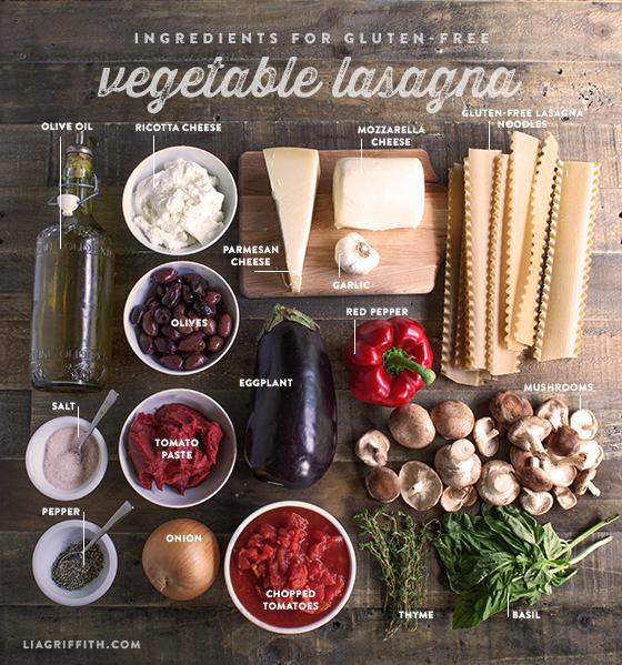Gluten Free Vegatable Lasagna